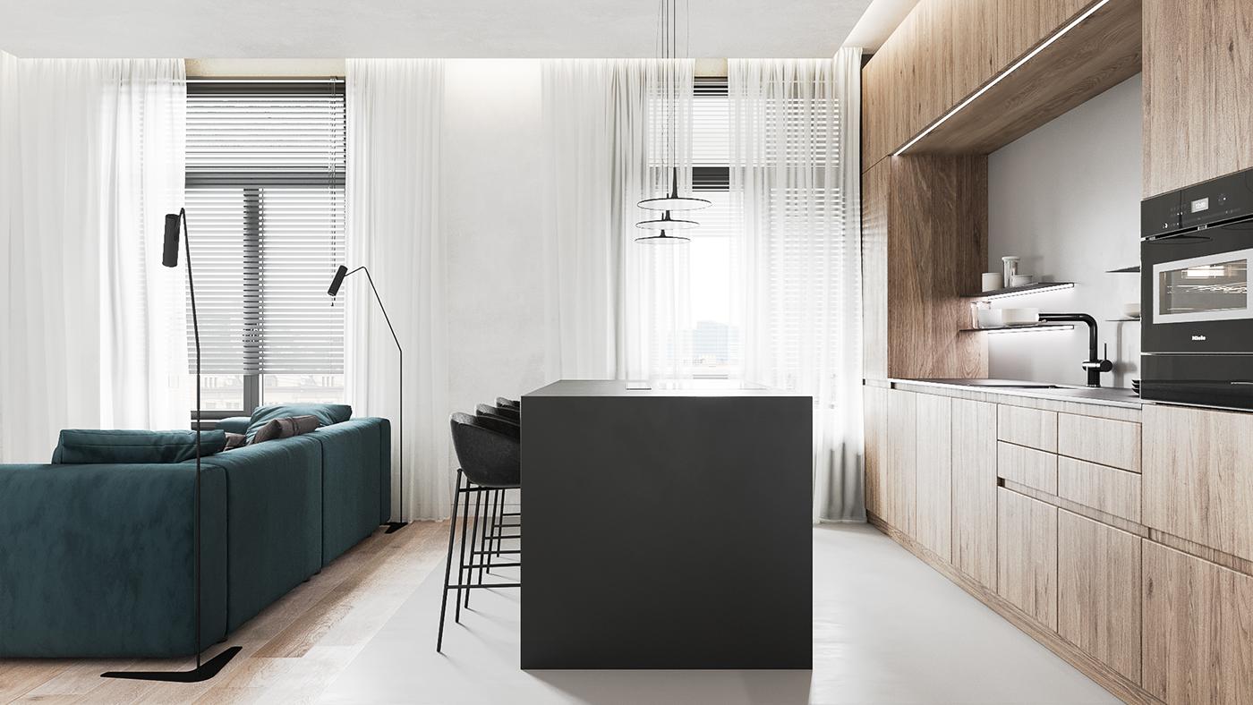 Apartamentul minimalist
