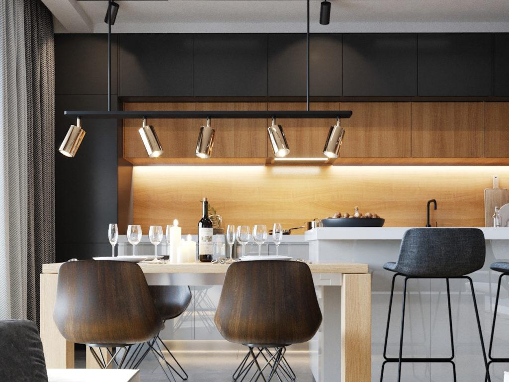 Amenajare apartament modern - Interviu Maria Novikova