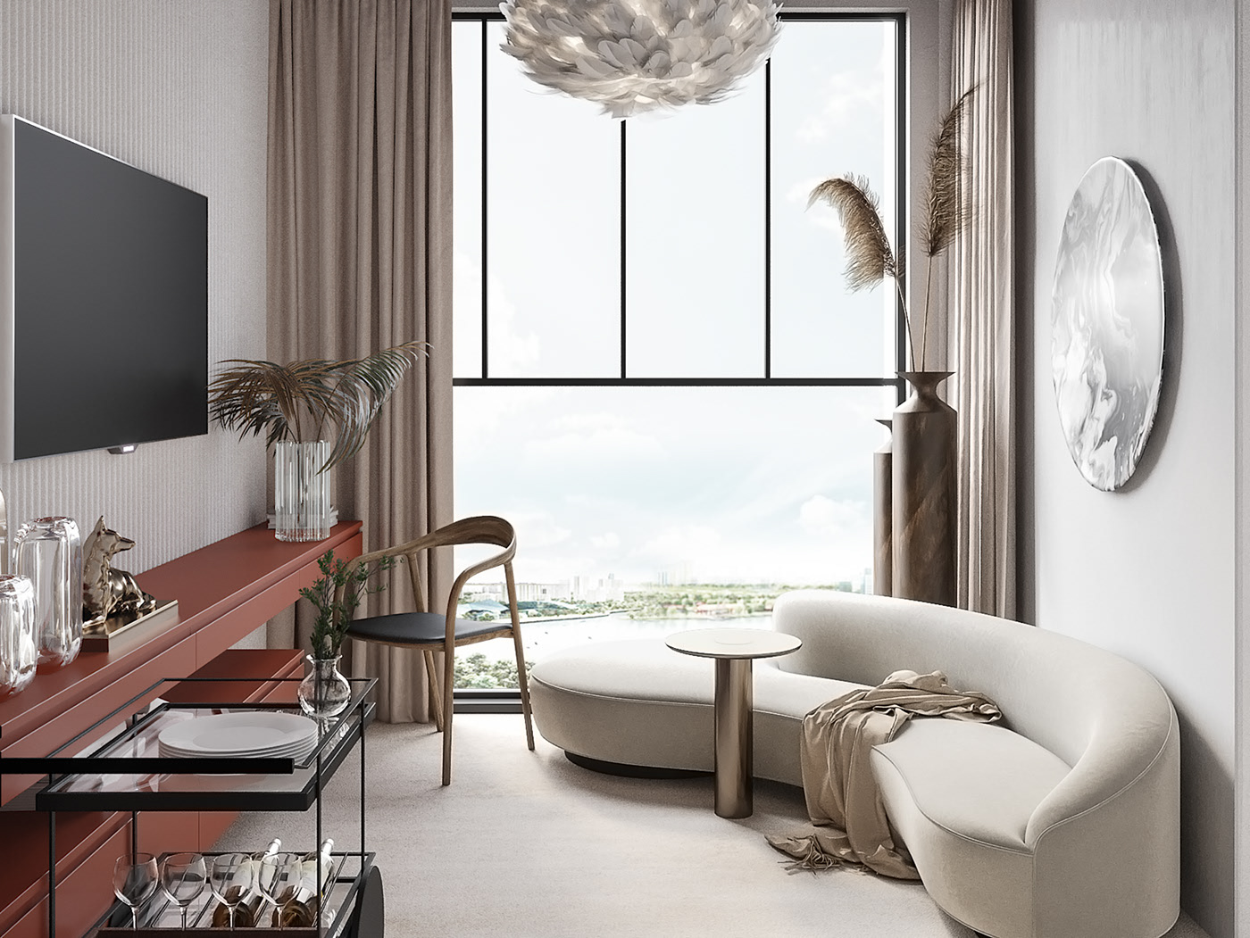 Apartament de burlacita in fascinantul Singapore
