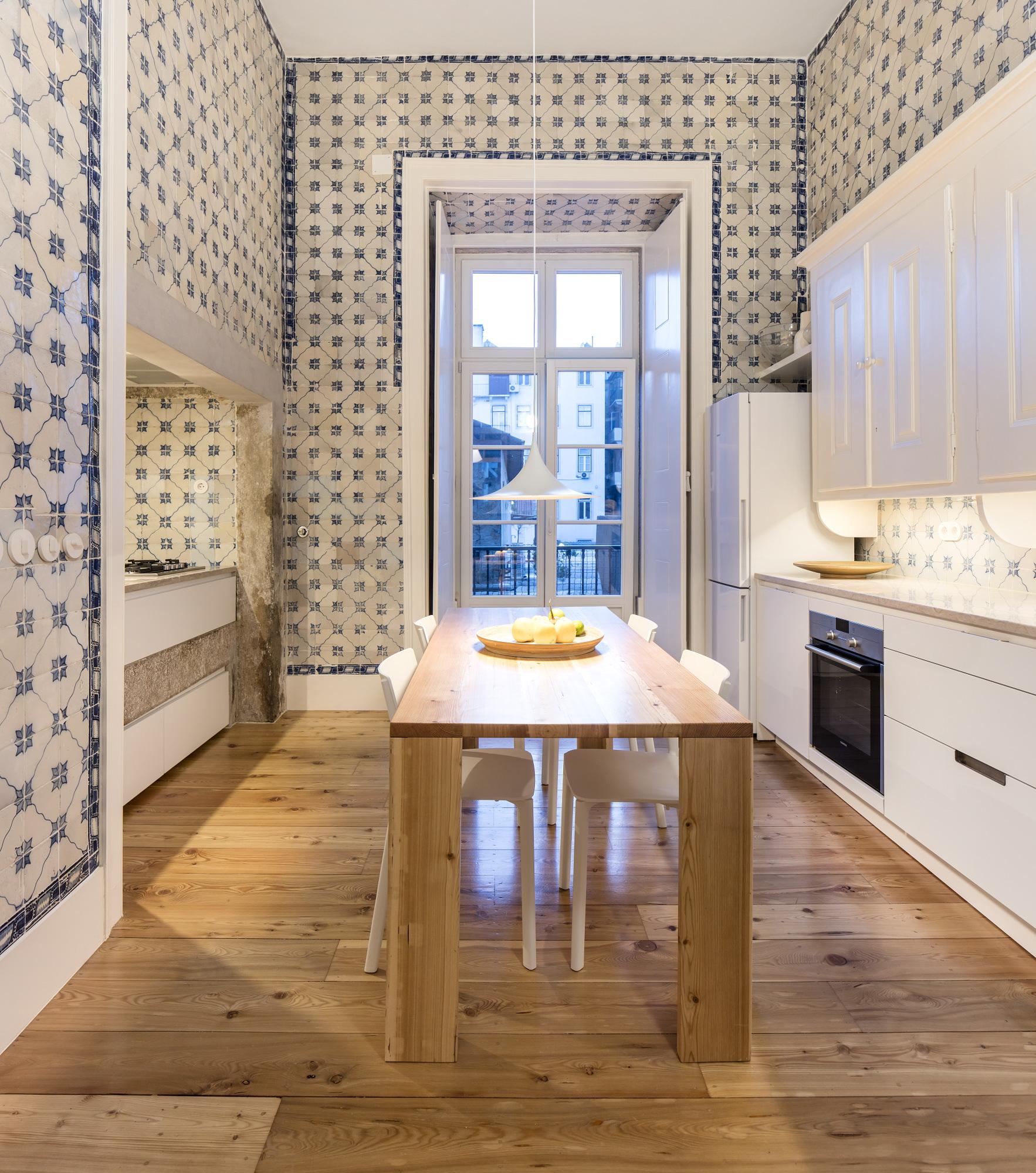 Renovarea Apartamentului Nana, Lisabona